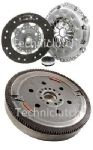 DUAL MASS FLYWHEEL DMF & COMPLETE CLUTCH KIT PEUGEOT 407 2.0 HDI